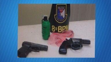 Quadrilha suspeita de assaltos é presa no Sudoeste do AM - Segundo a polícia, criminosos agiam na fronteira entre Brasil e Colômbia.