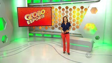Confira a íntegra do Globo Esporte RS desta terça (14) - Programa traz a preparação da dupla Gre-Nal para a Copa do Brasil e a Libertadores da América. Rhodolfo, zagueiro tricolor, é o convidado do quadro 'Entrevista Coletiva'.