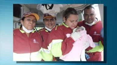 Dois partos são realizados na BR-163 em uma semana em MS - O primeiro parto foi na última segunda-feira (6), em Dourados. E nesse sábado (11), uma gestante estava vindo de Camapuã entrou em trabalho de parto enquanto estava na rodovia.