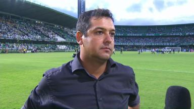 Marquinhos Santos avalia vitória do Coritiba sobre o Londrina - Marquinhos Santos avalia vitória do Coritiba sobre o Londrina