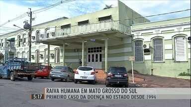 MS confirma primeiro caso de raiva em humano dos últimos 20 anos - O homem de 31 anos teria sido mordido por um cachorro doente na cidade de Corumbá.