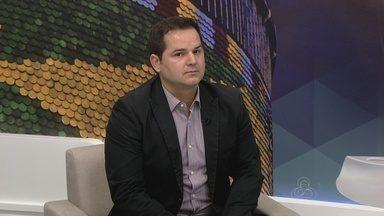 Subsecretário de obras públicas fala sobre ações de revitalização em ruas de Manaus - Antônio Nelson fala sobre o assunto.