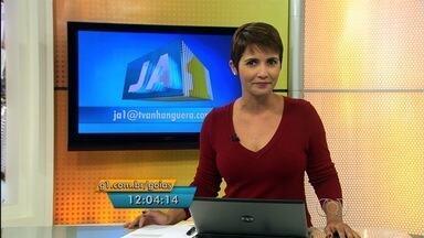 Confira os destaques do Jornal Anhanguera 1ª Edição desta segunda-feira (20) - O enterro da dançarina Amanda Bueno está entre os destaques.