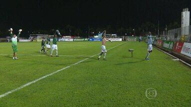 Caldense vence Tombense e avança para enfrentar o Atlético-MG na final do Mineiro - Jogadores comemoram muito classificação para a final do estadual, e título de campeão do interior