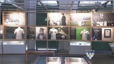 Museu Pelé é opção para visitas em Santos, SP - Local está aberto ao público