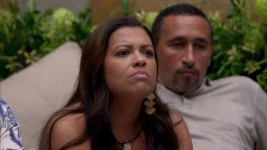 Jovem acha que valores como união e amor devem ser destacados na TV - Paula foi convidada para participar do programa junto com sua família