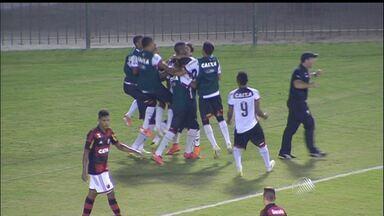 Sub-17 do Vitória bate o Flamengo e tem a vantagem na Copa do Brasil - Veja como foi a partida.