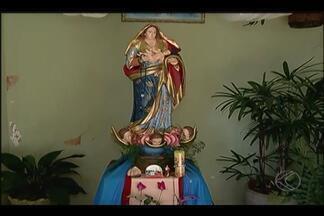 Uberlândia recebe imagem de Nossa Senhora da Abadia - Imagem saiu de Romaria e está sendo levada para casas de famílias.