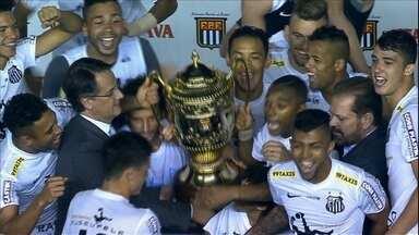 Confira o clipe da final do Campeonato Paulista de 2015 - Globo Esporte acompanha as famílias dos jogadores de Santos e Palmeiras e do árbitro no dia da grande decisão