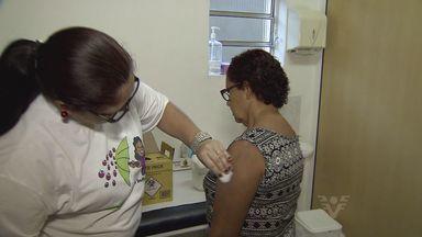 Dia D de vacinação contra a gripe na Baixada Santista - Dia D de vacinação contra a gripe na Baixada Santista.