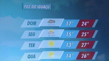 Dia da Mães será chuvoso na fronteira - A manhã começa com 17 graus