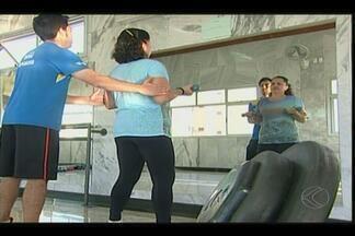 Em Uberaba, mães também se destacam na prática de exercícios físicos - Academias recebem cada vez mais mães.