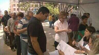 Imunização contra a gripe tem dia D em Ribeirão Preto - Campanha foi intensificada no Centro e em postos da cidade.