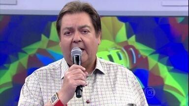 Faustão relembra vencedores do 'Quem Chega La?' - Na lista estão os comediantes Alex Nogueira, João Besouro, Matheus Ceará e Ed Gama