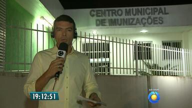 Campanha de vacinação contra gripe termina esta semana - O número de vacinados em João Pessoa está abaixo do esperado.