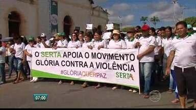 No Recife, moradores de Glória do Goitá cobram mais segurança do governo - Cidade tem sofrido com assaltos constantes.