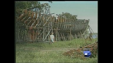 BDS reexibe matéria sobre veleiro das comemorações dos 500 anos do Descobrimento do Brasil - A matéria foi destaque no ano de 2000 no Jornal Hoje.