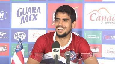 Jovem que saiu do banco é talismã do técnico do Bahia; já Kieza pode voltar antes do prazo - Confira as notícias do tricolor baiano.