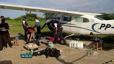 Polícia Federal identifica dono de avião com 360 quilos de cocaína - Em 2015, Polícia Federal apreendeu dois aviões carregados de droga.
