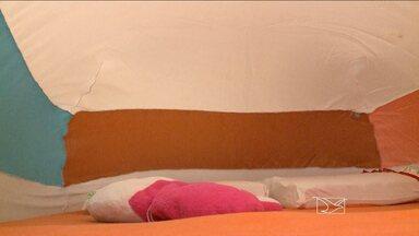 Em São Luís, técnico inventa cobertor contra mosquitos - Ele já pensa em vender a sua ideia.