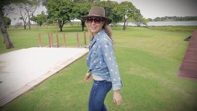 Angélica inicia as gravações do Estrelas no Pantanal - Apresentadora grava vídeo para o Gshow. Confira!