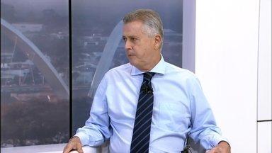 Governador Rodrigo Rollemberg fala sobre problemas na saúde do DF - O governador disse que está trabalhando para reabrir leitos de UTI nos hospitais do DF.