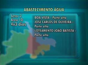 Confira como está o abastecimento de água em Caruaru nesta quinta-feira (21) - Rodízio de quatro dias com água e três sem ocorre em vários bairros da município.
