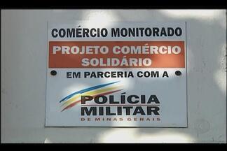 Projeto da PM para proteção ao comércio é ampliado em Uberlândia - Bairros Custódio Pereira e Umuarama farão parte da ação. Autoridades esperam por redução significativa da criminalidade.