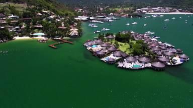 Angra dos Reis é a cidade homenageada do Telão do Domingão - Veja imagens do município fluminense