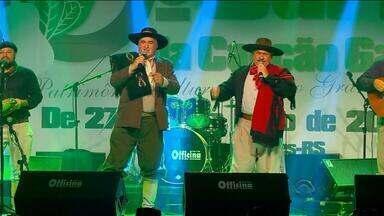 Conhecida música vencedora do Carijo da Canção Gaúcha - Festival nativista é patrimônio cultural do estado.