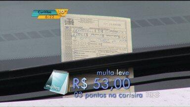 Maio amarelo terminou, mas a conscientização no trânsito não - Em Paranavaí, caiu o número de multas aplicadas, mas ainda tem gente sendo flagrada cometendo infração.