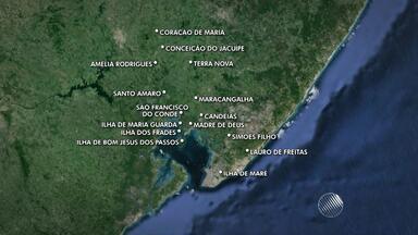 Fornecimento de água é interrompido em Salvador e cidades da região; veja na lista - Serviço foi interrompido para realização de manutenção no sistema.