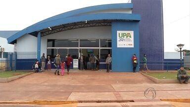 População reclama da demora no atendimento em UPA de Dourados (MS) - Nos fins de semana, quase 400 pacientes passam pela Unidade de Pronto Atendimento