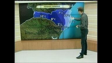 Confira a previsão do tempo para a região Oeste de SC - Confira a previsão do tempo para a região Oeste de SC