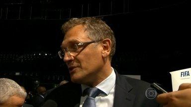 Jérôme Valcke é apontado como suspeito em propina para Copa de 2010 - Imprensa americana diz que o alto funcionário da Fifa é suspeito de participar da compra de votos para a África do Sul virar a sede da Copa de 2010.