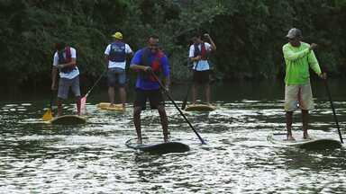 Hoje é dia de ecoturismo: Stand up paddle - Alexandre Henderson vai a Bonito (MS) explorar diferentes aspectos do ecoturismo.