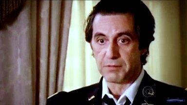 Al Pacino se consagrou com personagens que marcaram a história do cinema - Boa parte do público e da critica considera Al Pacino, o personagem da coluna do Nelson Motta, o maior ator vivo do mundo. Veja uma retrospectiva da vida e obra desse ator que se tornou um grande ícone do cinema.