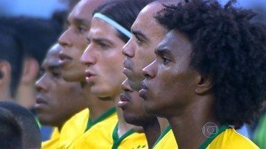 Brasil vence amistoso contra o México por 2 a 0 - A Seleção Brasileira de futebol ganhou o amistoso contra o México por 2 a 0, em São Paulo. Os gols saíram no primeiro tempo.
