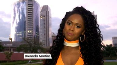 Brennda Martins comemora presença no concurso: 'Muito feliz de estar aqui' - Veja o que falou a candidata ao Balé do Faustão