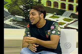 Comediante cearense Tirulipa faz show em Belém - Confira entrevista ao vivo no JL1 deste sábado.