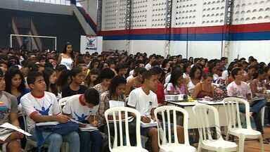 Aulão do Enem é realizado em Aracaju - Aulão do Enem é realizado em Aracaju.