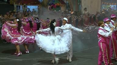 Trilha Junina é eleita campeã da etapa Agreste do Festival de Quadrilhas - O grupo tem 40 componentes e este ano teve como tema as flores e o encanto de um beijo.
