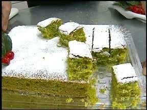 Jornal do Almoço dá dicas de como aproveitar a erva-mate na culinária - Confira receita de bolo de erva-mate.