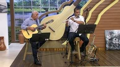 Sala Musical: Nivaldo e Sávio interpretam o instrumental da música 'Wave', de Tom Jobim - Sala Musical: Assista a apresentação da música 'Wave' de Tom Jobim