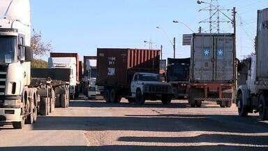 Secretaria de Mobilidade anuncia mudanças no trânsito do Porto de Rio Grande - Congestionamentos são frequentes no local.