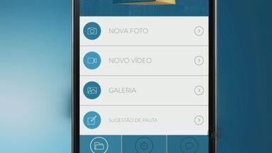 Confira como participar do Jornal da EPTV através de um aplicativo - Confira como participar do Jornal da EPTV através de um aplicativo