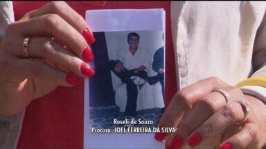 Pessoas divulgam apelos sobre desaparecidos no Paraná TV - Jasson Goulart recebeu depoimentos, apelos e informações sobre entes queridos desaparecidos na Redação Móvel.