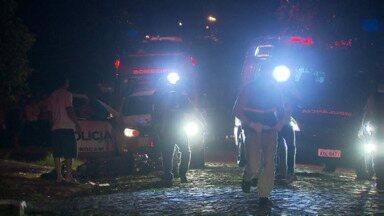 Envolvido em triplo homicídio é ouvido pela polícia - O crime foi no sábado a noite