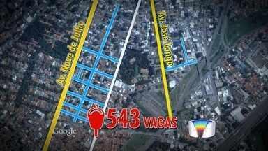 São José inicia cobrança de Zona Azul na região da Avenida 9 de julho - Ao todo, são 543 novas vagas com cobrança de estacionamento.