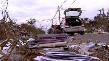 Polícia Federal investiga como livros didáticos foram encontrados abandonados na Grande BH - Mais exemplares foram encontrados nesta terça-feira (16) em Ribeirão das Neves.